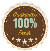 100% Fresh Guarantee